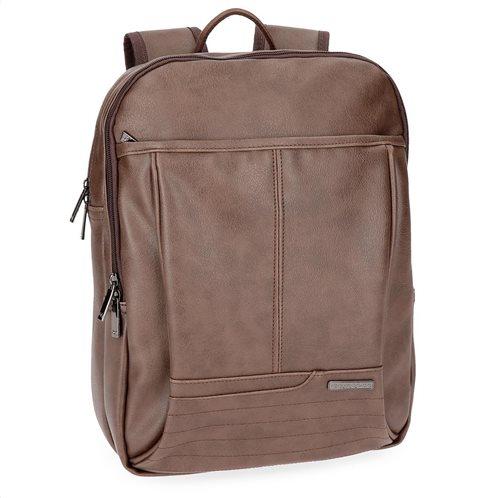 "Movom Σακίδιο πλάτης με θέση Laptop 13,3"" 27x36x12cm σειρά Texas Brown"
