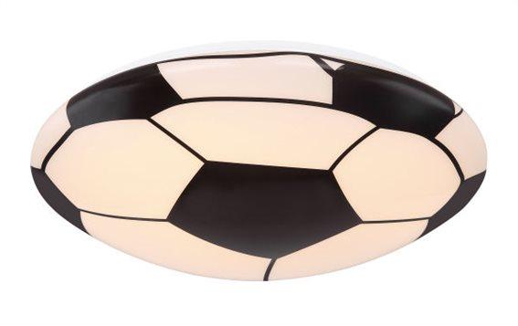 Globo Lighting Πλαφονιέρες LEMMI μονόφωτο λευκό  led 54009d1
