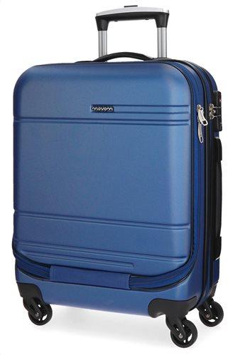 Movom Βαλίτσα Καμπίνας Galaxy ABS 55x20x40cm, Blue