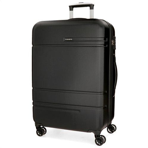Movom βαλίτσα μεσαία αυξομειούμενη ABS 68x27x48cm σειρά Galaxy Black