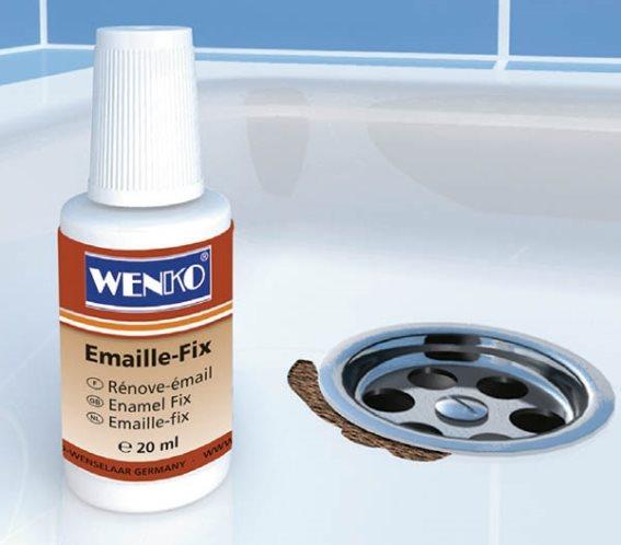Wenko Enamel Fix Λευκό Επισκευαστικό Σμάλτο 20ml
