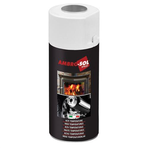 Σπρέι υψηλής θερμοκρασίας 400 ml μαύρο ματ
