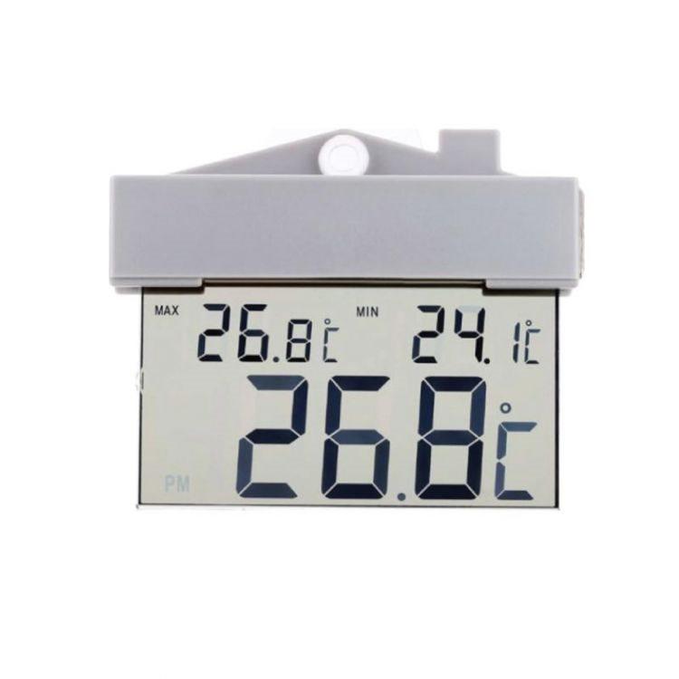 Grundig Θερμόμετρο Επιτοίχιο 600174 Εξωτερικού Χώρου με Βεντούζα