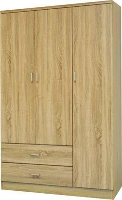 Velco ντουλάπα σφένδαμος 64-35488-29 120x52x190cm