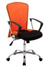 Velco Καρέκλα Γραφείου Πορτοκαλί-Μαύρο