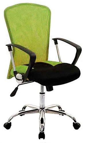 Velco Καρέκλα Γραφείου Λαχανί-Μαύρο 66-18634-6