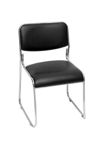 Velco Καρέκλα Επισκεπτών Μαύρη 66-22273 44x41x75cm