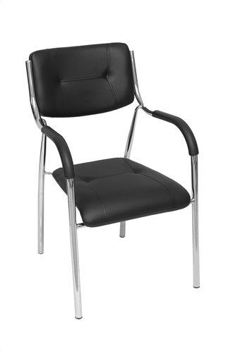 Πολυθρόνα Μαύρη 49x45x85cm