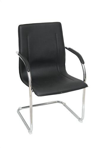 Velco Κάθισμα Επισκεπτών Μαύρο 66-22389