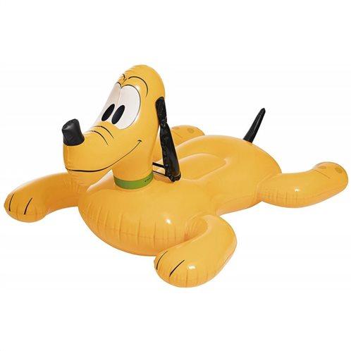 Bestway Φουσκωτός Σκύλος Πλούτο Παιχνιδιάρης 91074 Ride on 117x107cm
