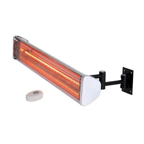 Lineme Θερμάστρα Τοίχου Αλογόνου Ruby Red με τηλεχειριστήριο 1800W 70-00702