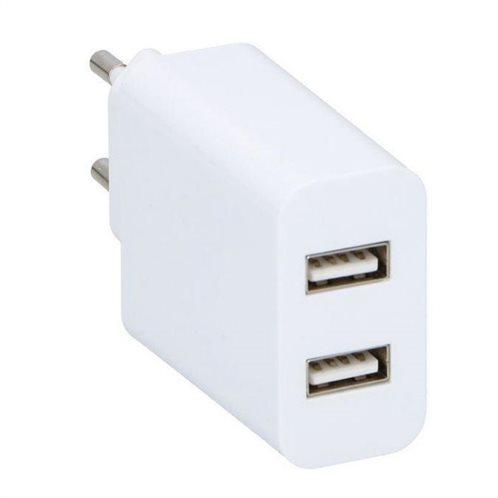 ΦΟΡΤΙΣΤΗΣ USB ΡΕΥΜΑΤΟΣ 2,1Α ABS 2 EΞΟΔΩΝ GRUNDIG