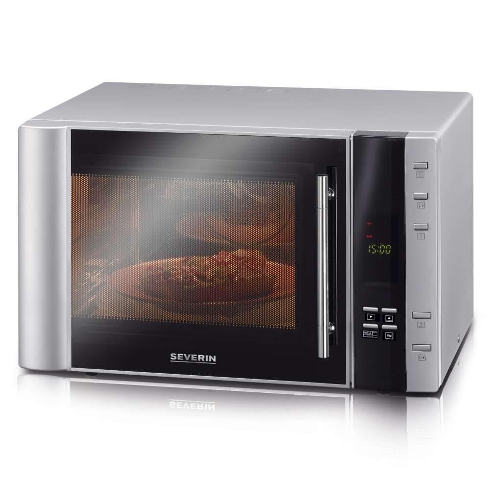 SEVERIN Φούρνος Μικροκυμάτων με Λειτουργία Grill και Ζεστού Αέρα 900W 30L, Grill 1100W - 7825