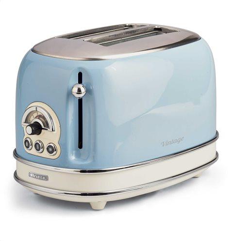 Ariete Φρυγανιέρα Vintage 155/05 Toaster Light Blue 800W