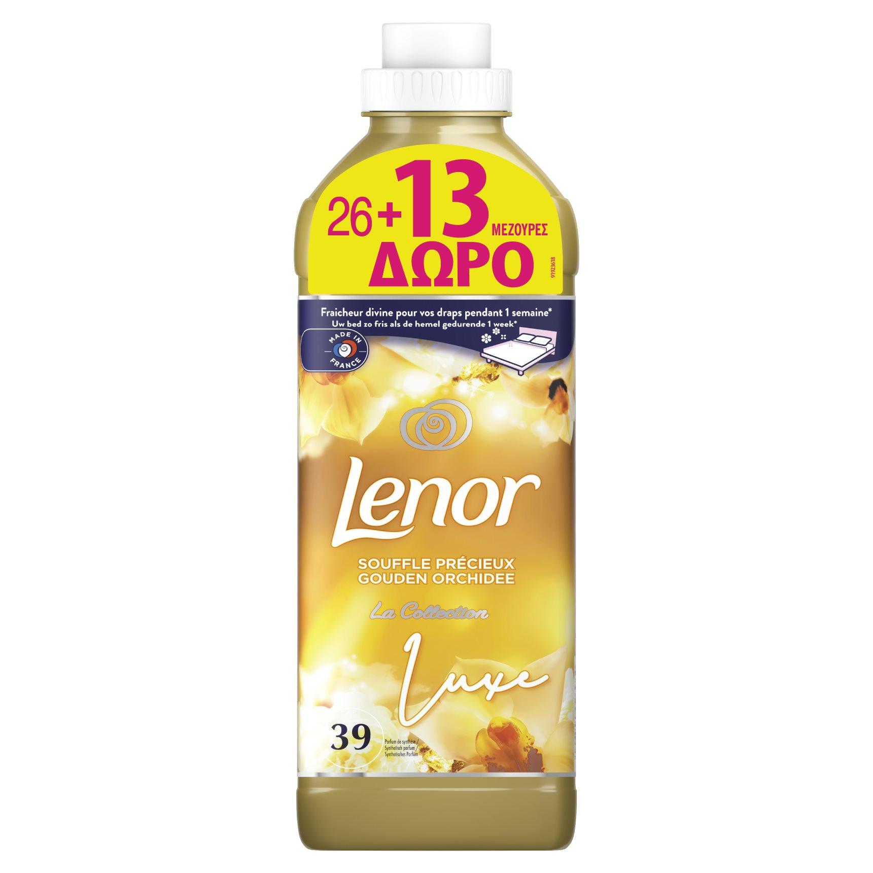 LENOR Μαλακτικό Ρούχων Luxe Gold Orchid 1.15lt 26+13 Μεζούρες - 81760322