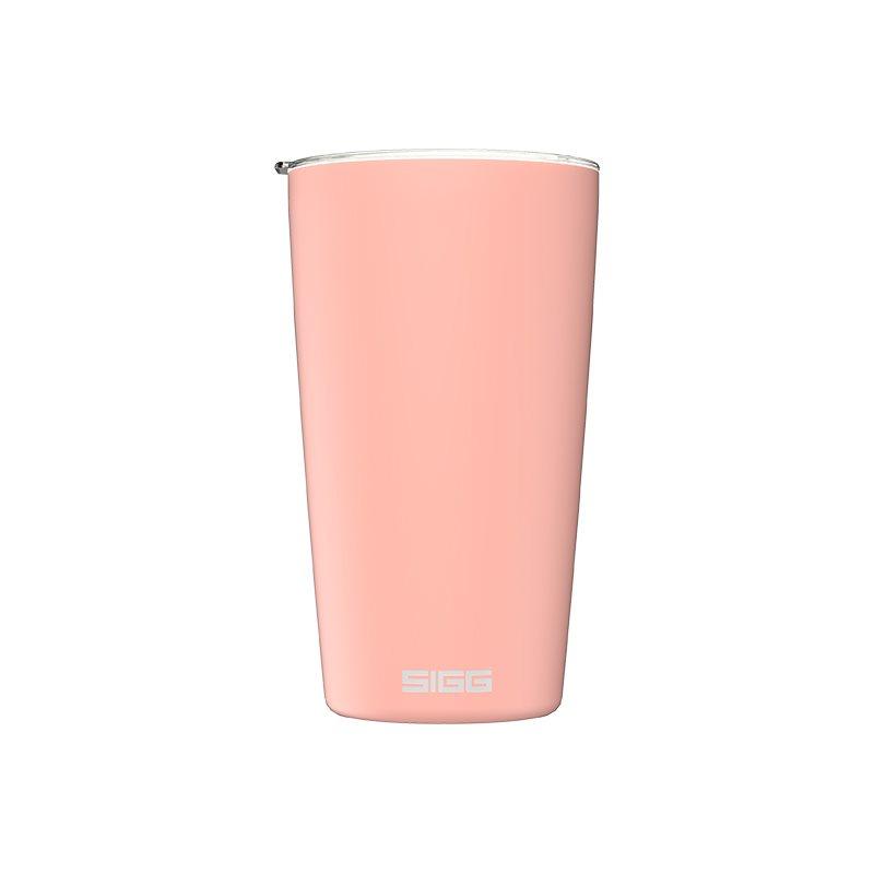 Sigg Θερμομονωτική Ανοξείδωτη Κούπα με Καπάκι Ροζ Neso 0,4lt