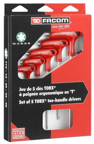Facom Σετ κλειδιά TORX 89TX.PB