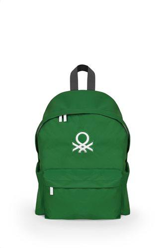 Benetton Τσάντα πλάτης 41x30x16cm σειρά JOURNEY Green