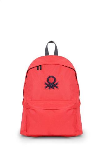 Benetton Τσάντα πλάτης 41x30x16cm σειρά JOURNEY Red