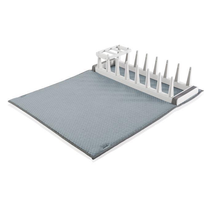 Tescoma Στεγνωτήρας Πιάτων από Μικροϊνες Γκρι Clean Kit
