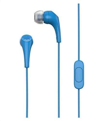 Motorola Ακουστικά  Ενσύρματα In-Ear 2 Μπλε