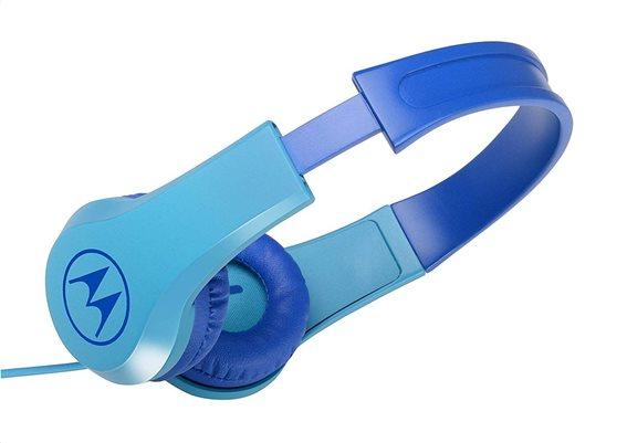 Μotorola Παιδικά Ακουστικά Κεφαλής Ενσύρματα On-Ear Squads 200 Μπλε