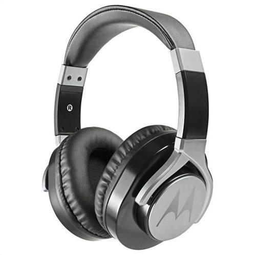 MOTOROLA Ακουστικά Κεφαλής  Ενσύρματα PULSE ΜΑΧ Μαύρα