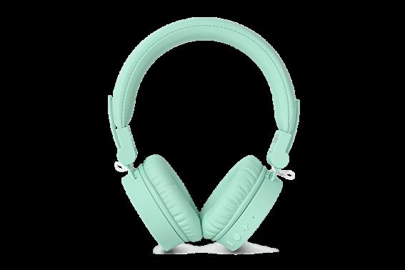 Fresh 'n Rebel Ασύρματα Ακουστικά Στέκα Bluetooth Caps Headphone  Peppermint (Πράσινο Ανοιχτό)