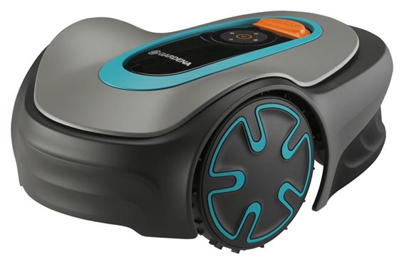 Gardena Ρομποτική Χλοοκοπτική Μηχανή Γκαζόν Μπαταρίας Sileno Minimo 250