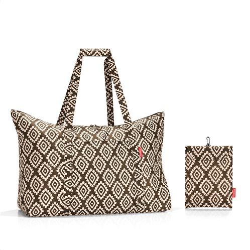 Reisenthel τσάντα ταξιδίου mini maxi travelbag σειρά Diamonds Mocha