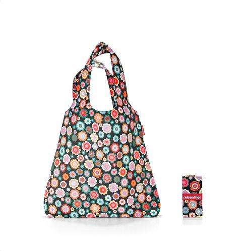 Resisenthel τσάντα για ψώνια mini maxi shopper Happy Flowers