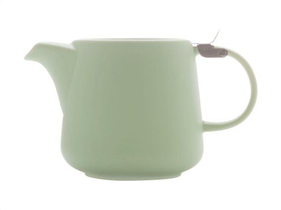 Maxwell & Williams Τσαγιέρα Πορσελάνης Πράσινη με Ανοξείδωτο Φίλτρο & Καπάκι 600ml Tint
