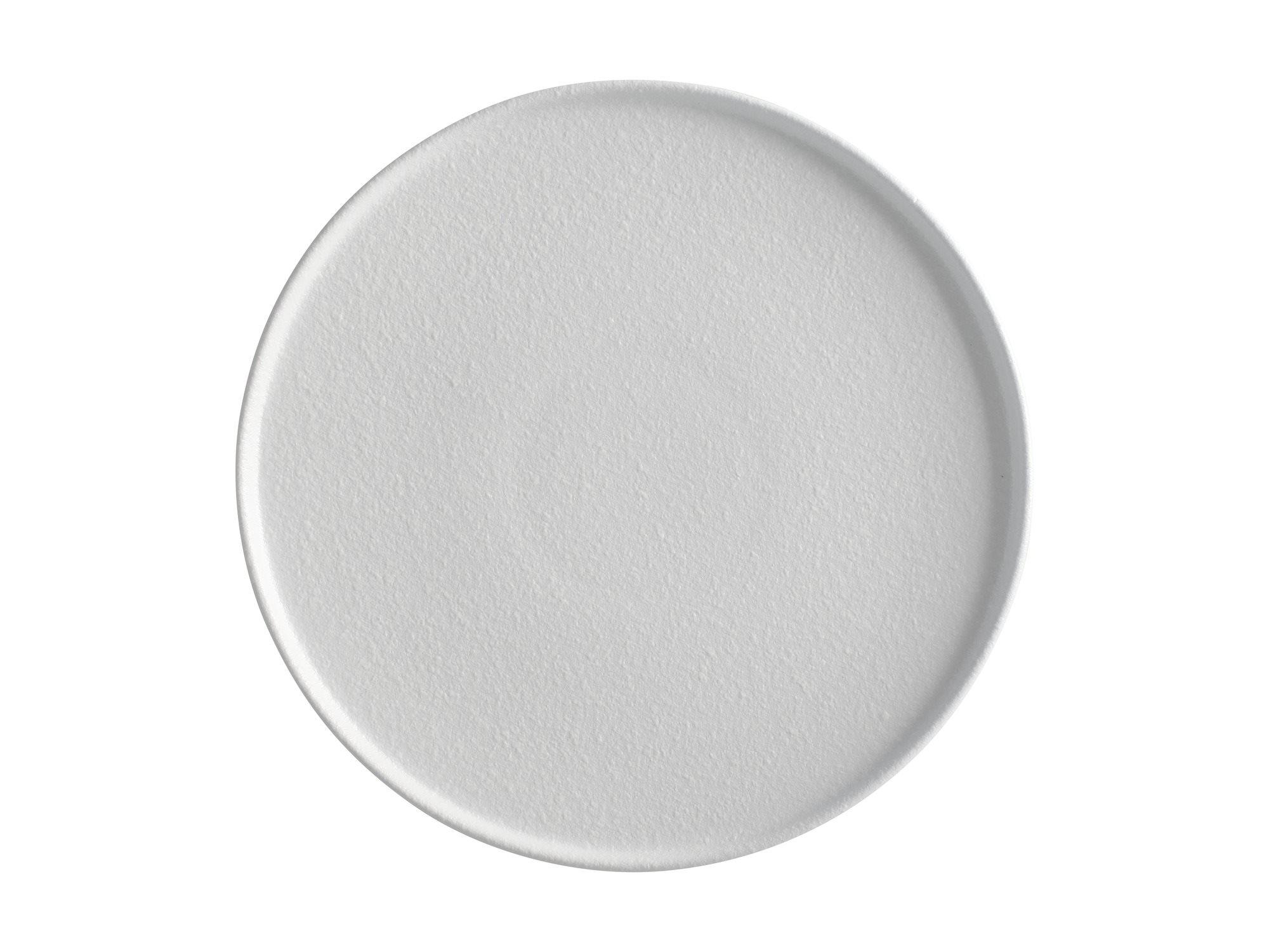Maxwell & Williams Πιάτο Φαγητού με Ψηλό Χείλος Λευκό Caviar 26,5cm