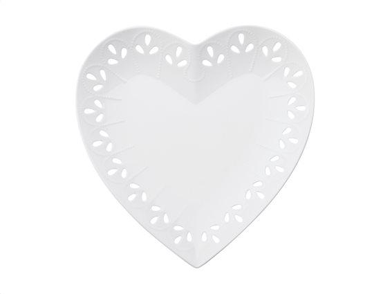 "Maxwell & Williams Πιατέλα ""Καρδιά"" Πορσελάνη 22cm Lille"