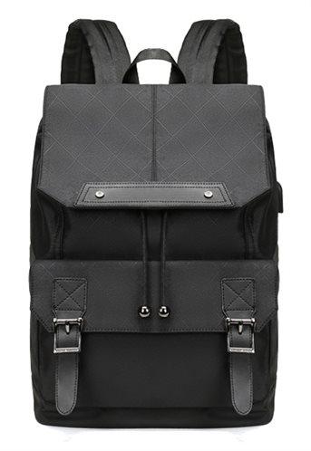 ARCTIC HUNTER τσάντα πλάτης B-00287-RMB με θήκη laptop USB μαύρη