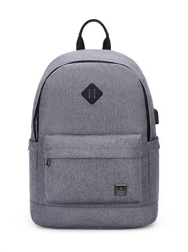 ARCTIC HUNTER τσάντα πλάτης B-00290-LG με θήκη laptop ανοιχτό γκρί