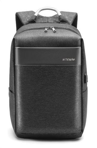 ARCTIC HUNTER τσάντα πλάτης B00218-GY με θήκη laptop αδιάβροχη γκρι