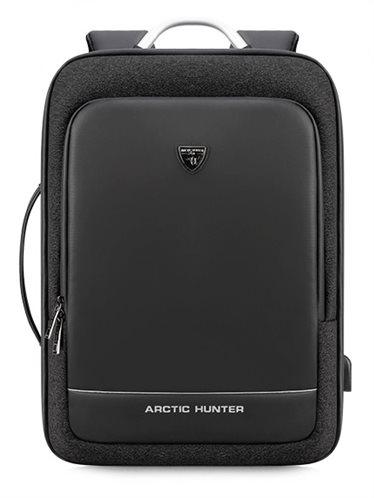 ARCTIC HUNTER τσάντα πλάτης B00227-BK με θήκη laptop μαύρη