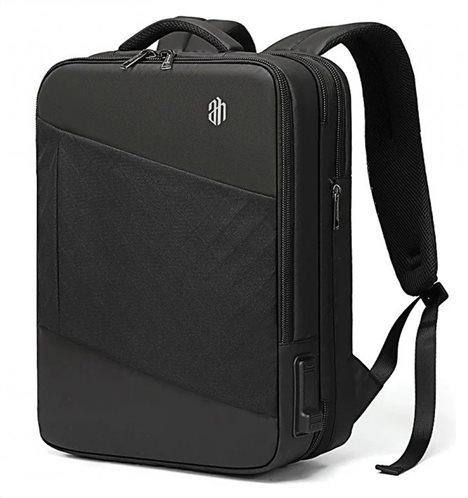 ARCTIC HUNTER τσάντα πλάτης B00345-BK με θήκη laptop USB & 3.5mm μαύρη