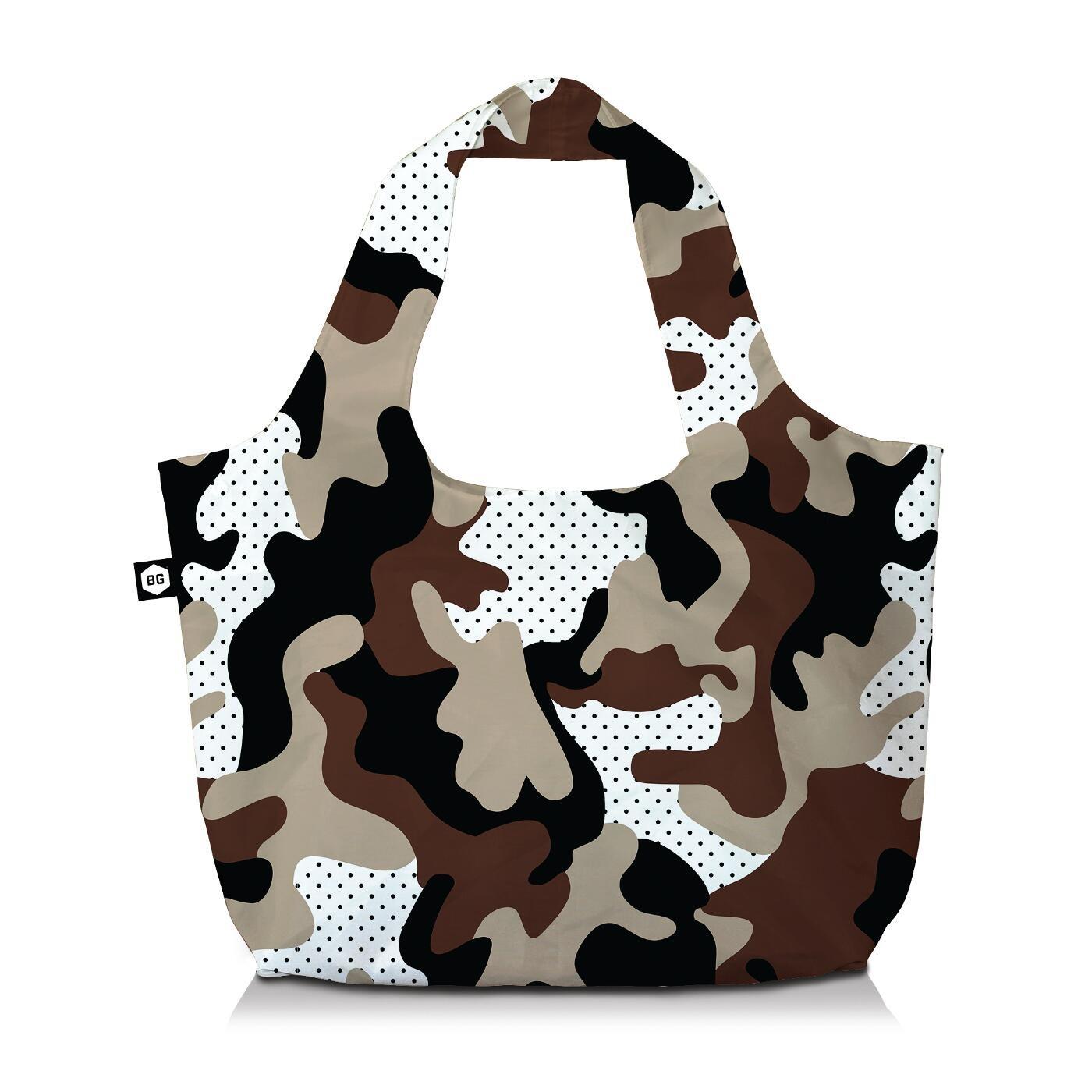 Bg Berlin Τσάντα Ώμου Eco Bag 3 Σε 1 -Pussy  Camu Safari