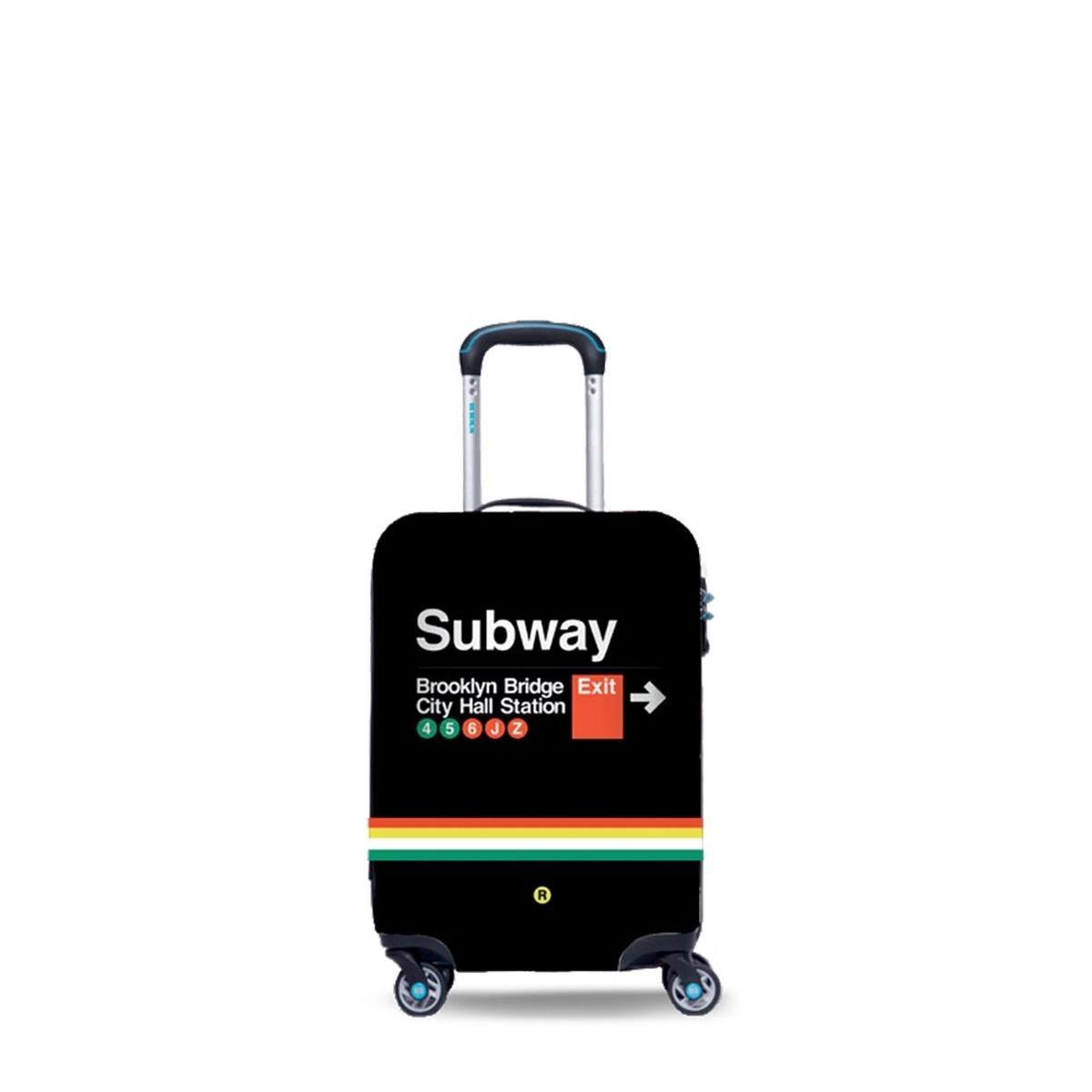 BG Berlin Βαλίτσα trolley καμπίνας 54x35x20 cm Subway Μαύρο