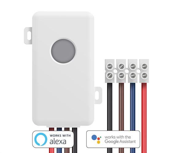 BROADLINK Έξυπνος Διακόπτης Wi-Fi BL-SC1 remote λευκός