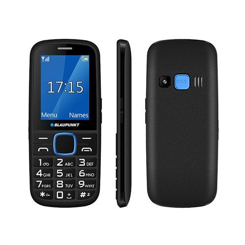 Blaupunkt BS04 Κινητό Τηλέφωνο Απλής Χρήσης Με Κουμπί SOS - Μπλε