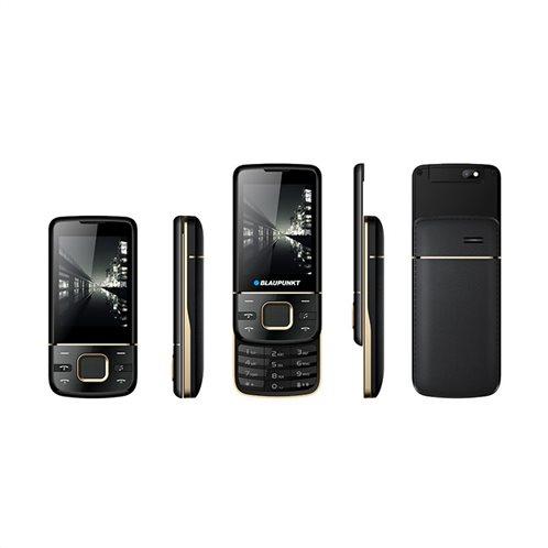 Blaupunkt FM01 Κινητό Τηλέφωνο Slide Up Απλής Χρήσης - Μαύρο