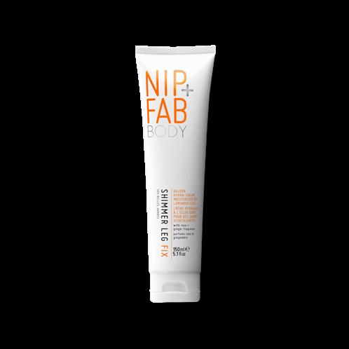 Nip+Fab χρυσαφένια Κρέμα ποδιών SHIMMER LEG FIX cream 150ml