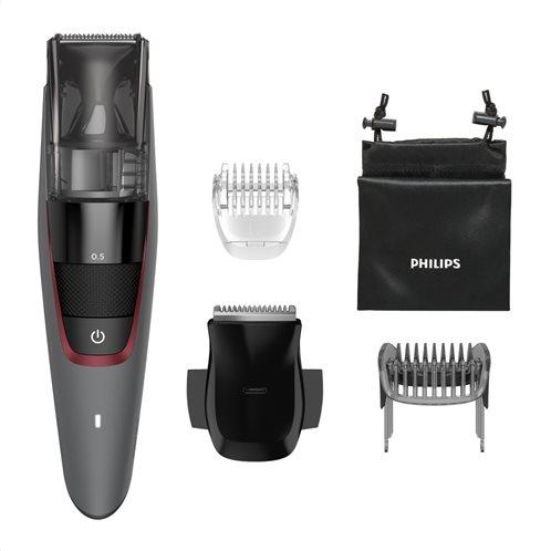 Philips Trimmer για Γένια με σύστημα απορρόφησης τριχών Επαναφορτιζόμενο με 20 Ρυθμίσεις 0.5-10mm BT7510/15