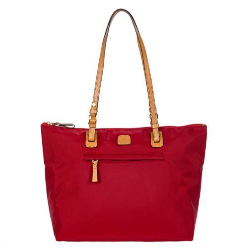 Bric s Τσάντα ώμου shopping 36x33x17cm 3in1 x-bag Chianti