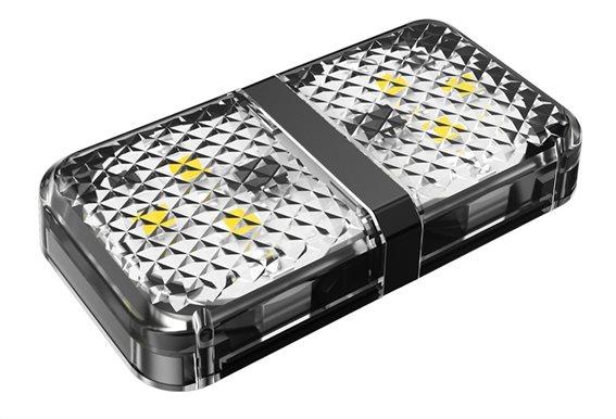 BASEUS LED προειδοποίησης ανοιχτής πόρτας αυτοκινήτου CRFZD-01 μαύρο