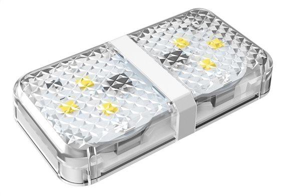 BASEUS LED προειδοποίησης ανοιχτής πόρτας αυτοκινήτου CRFZD-02 λευκό