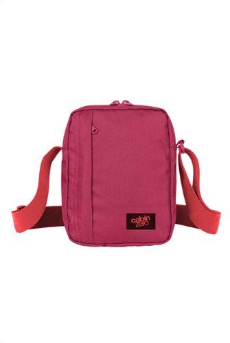 Cabin Zero Τσαντάκι ώμου-χιαστί 20x15x6cm 3lt σειρά Sidekick Jaipur Pink